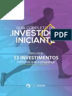 Guia completo do investidor iniciante