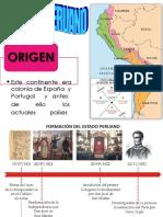 Origen Del Estado Peruano