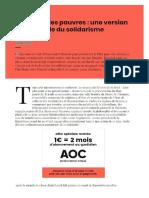 Serge Paugam ''Macron et les pauvres