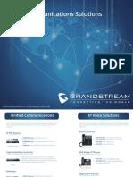 Complete Portfolio - Grandstream All Product Brochure