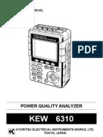1356 Kewtech KEW6310 Manual