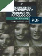 Desordenes Fronterizos y Narcisismo Patológico Otto Kernberg
