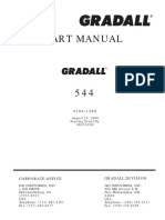 Part Manual - Model 544 - Serial 8655105G & After