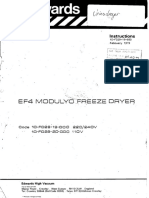 Edwards EF4 modulyo freeze dryer instructions ENG.pdf