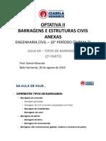 Optativa II Barragens Civil T2!02!2016 AULA 04