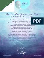 P. Dávila (Nuestra Identificación Con Dios a Través de La Oración)