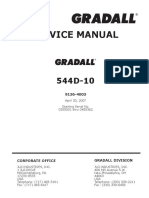 Operation & Safety Manual - Model 544D-10 - SN 0160003969 & After