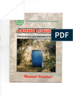 Manual Abono Líquido o Biol