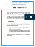 Pernos, Remaches y Soldadura