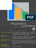 Resultados Encuesta Meganalisis Septiembre 2018