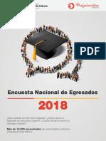 Encuesta Nacional de Egresados 2018
