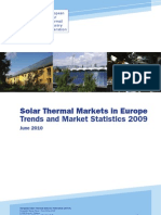Estif 2009 Solar Thermal Markets