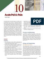 Acute Pelvic Pain