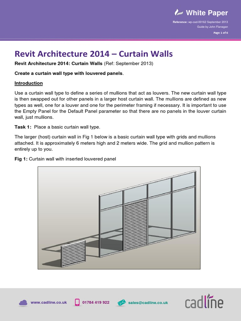 Revit_-Curtain_Walls_-_Louvers pdf