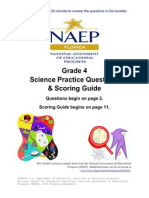 Grade4 Sample Questions Science