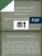 Unidad 4 La Doctrina Monroe - Diana Marcela Ochoa