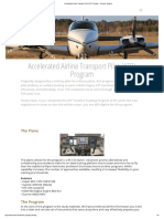 Accelerated Airline Transport Pilot (ATP) Training - Protocom Aviation