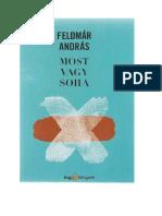 Feldmár András - Most vagy soha.pdf