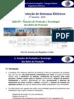 Aula 6 - Funções de Proteção e Tecnologia dos Relés de Proteção.pdf