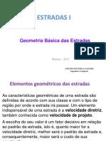 Geometria Básica Das Estradas