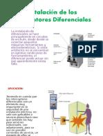 Instalación de Los Interruptores Diferenciales