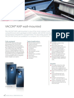 Fact Sheet Vacon NXP Wall Mounted Drives