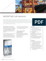Fact Sheet Vacon NXC Low Harmonic Drive AFE