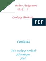 Cooking Methods