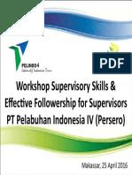 Slide PEMBUKAAN Workshop Supervisory