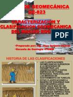 Caracterizacion y Clasificacion Geomecanica Del Macizo Rocoso
