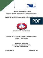 Manual de Prácticas Para El Laboratorio de Frutas y Hortalizas