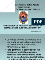 PREVENCION DE RIESGOS Y SEGURIDAD EN INSTALACIONES  ELECTRICAS DE MT Y BT CHANI.pdf