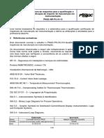 PNQC13 - Norma de requisitos para a qualificação e certificação de inspetor de manutenção em instrumentação