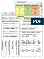 Personal Pronouns Grammar Guides