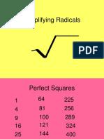 SimplifyingRadicals.ppt