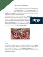 The Battle of Aljubarrota