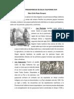 Culturas Prehispánicas de Baja California Sur
