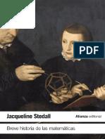 Breve Historia de Las Matemáticas