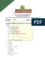 7. Try Out Kelas 2 Ujian Mid Semester- Mtk - Clear