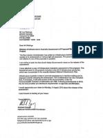Sydney Light Rail letter