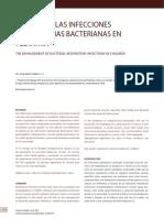 MANEJO DE LAS INFECCIONES RESPIRATORIAS BACTERIANAS EN PEDIATRÍA