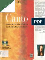 Canto Uma Consciencia Meloacutedica Tutti Baecirc