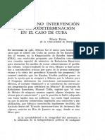 La Defensa Mexicana de Los Principios de No Intervención