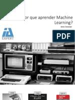 Por Que Aprender Machine Learning