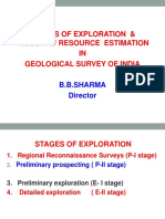 7 Stages of Exp and Reserve Estimation-BB Sharma