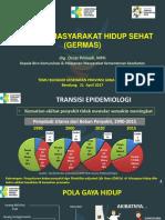 Sosialisasi GERMAS Temu Blogger Jawa Barat 2017(1)