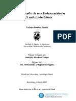 Estudio y Diseño de Una Embarcación de Recreo de 18,52 Metros de Eslora - HodayfaAhadme