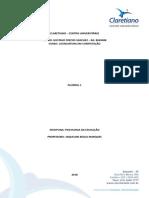 Portifolio 1 - psicologia na educação