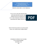 Informe -Laboratorio Ley de Torriceli