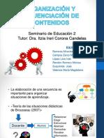 ORGANIZACIÓN Y SECUENCIA DE CONTENIDOS [Autoguardado].pptx